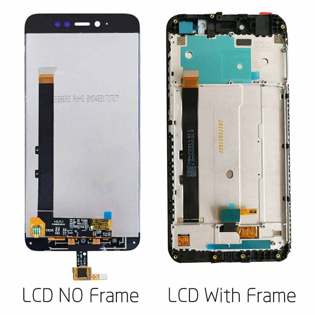 For Xiaomi redmi Note 5A Glass LCD display Touch Screen Assembly Panel Frame Screen Digitizer Replacement Part