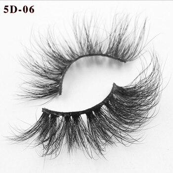 Pestañas 100% de visón hechas a mano, pestañas gruesas naturales, herramientas de extensión de maquillaje wispy, pestañas postizas suaves de volumen de pelo de visón 3D