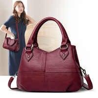 ZDG shoulder bag women genuine leather luxury handbags black totes for women fashion female bag shopping bag for girl