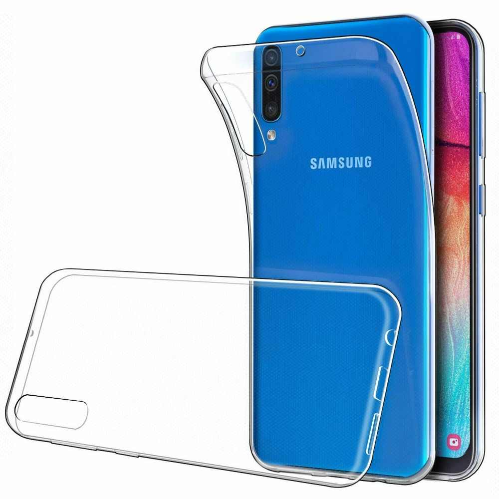 Siliconen Tpu Voor Samsung Galaxy A50 A51 A71 Case Soft Clear Telefoon Back Cover Voor Samsung A30 A20 A40 S10 E Plus A5 A8 Plus 2018