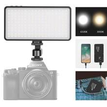 Neewer pro MFL-06 on-camera luz de vídeo, bolso-tamanho 180 smd led/bi-color 3000-6500 k/brilho regulável/cri96 +/built-in bateria