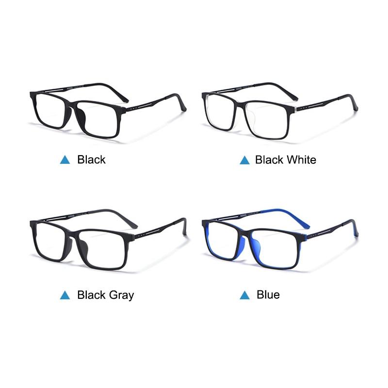Image 4 - Nowe jakościowe okulary optyczne rama dla mężczyzn i kobiet okulary elastyczne tytanowe nogi świątyni TR 90 ramki przedniej obręczyRamki do okularów   -