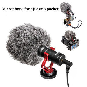 Image 4 - Vlog Cell Phone Clip Bracket Desktop Tripod Fixed Holder Stand Mount for DJI Osmo Pocket Handheld Gimbal Camera Accessories Set