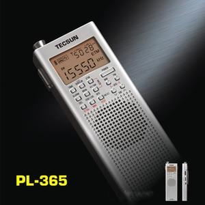 Image 4 - Lusya Tecsun PL 365 портативный однодиапазонный приемник полнодиапазонная цифровая Демодуляция DSP SSB радио I3 002