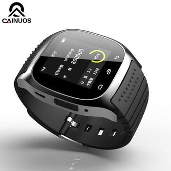 Calangdar 2018 New Luxury Smart Watch Men Sport Bluetooth With Dial SMS Remind Fitness Tracker Wrist Watches For Android  IOS