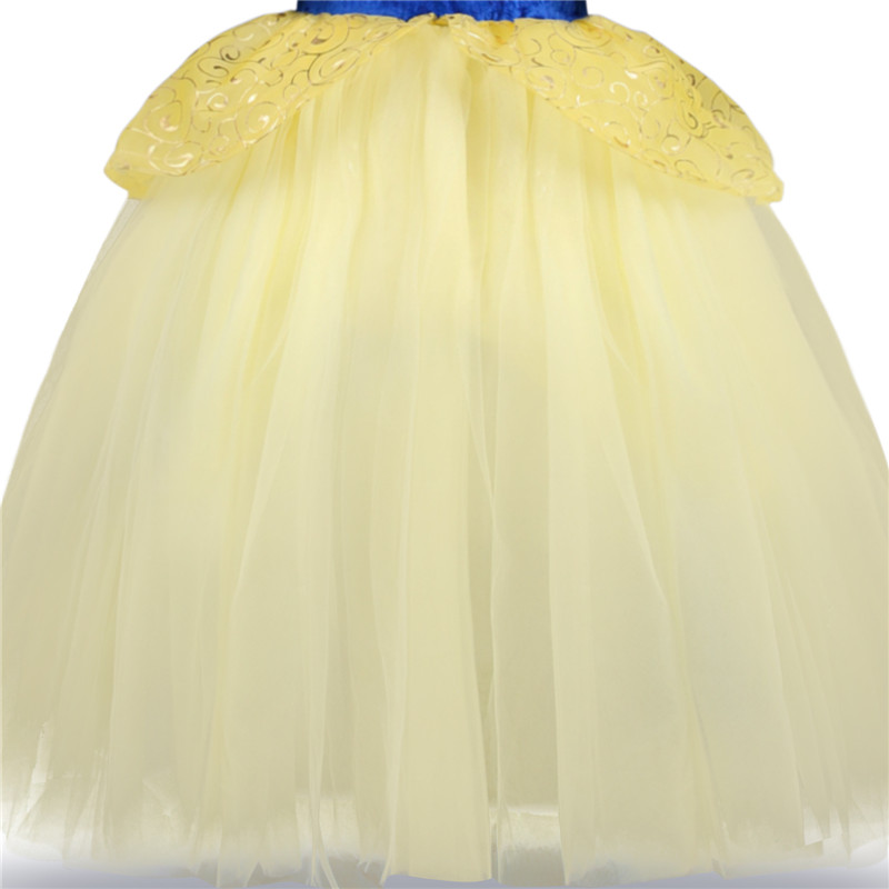 H753d7d2a881f4cd5875c9587ab5945a55 2019 Children Girl Snow White Dress for Girls Prom Princess Dress Kids Baby Gifts Intant Party Clothes Fancy Teenager Clothing