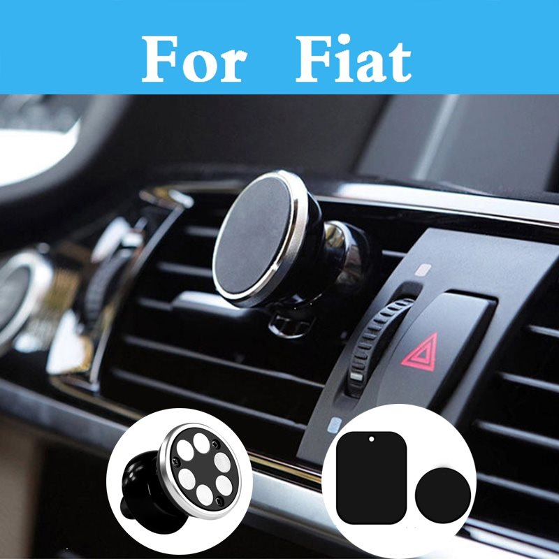 Car Magnetic Phone <font><b>Holder</b></font> Stand Display Support <font><b>Gps</b></font> Phone Stander For <font><b>Fiat</b></font> <font><b>500</b></font> 500x 600 Bravo Linea Croma Albea Barchetta image