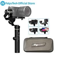 FeiyuTech G6 Plus 3 Axis G6P Handheld Gimbal Stabilizer for Mirrorless Camera GoPro Smart phone Payload 800g Feiyu G6P
