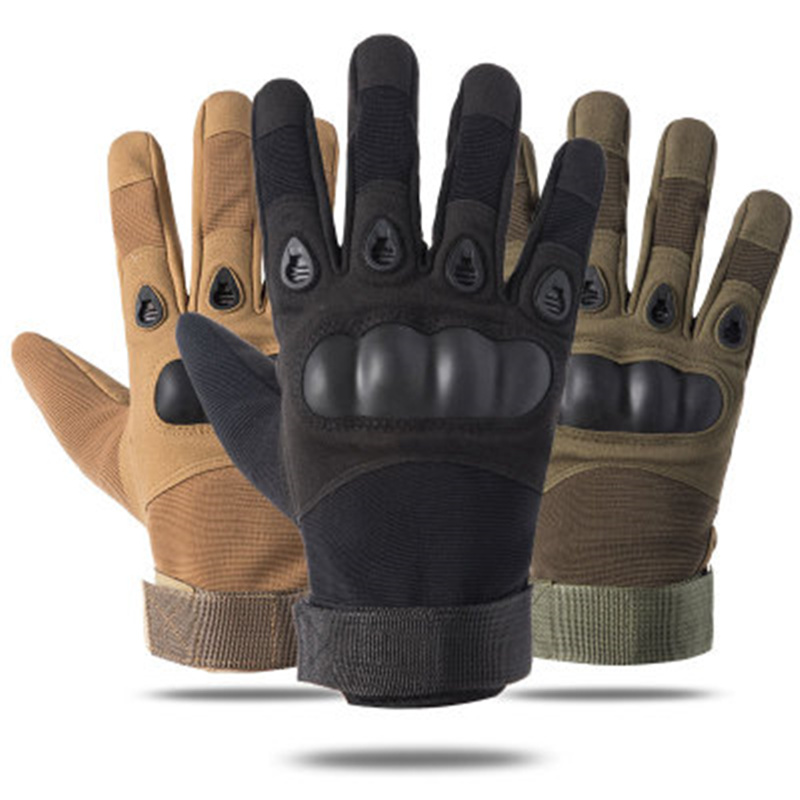 Guantes Gym Tactical Fitness Gloves Protective Shell Army Mittens Antiskid Workout Gloves Military Tactical Gloves For Men Women