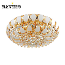 цена на manufactory New Arrival K9 Crystal Chandelier Pendant Lamp Luxury Crystal Ceiling Light Fixture Lusters in Stock free ship