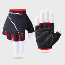 Cycling Gloves Absorbing Sweat Half Finger Gloves Breathable Anti-shock Sports Gloves Riding Outdoor  MTB Bike Bicycle Glove rockbros cycling bike bicycle gloves half finger gel anti shock breathable elastic bicycle gloves mtb motorcycle sports gloves
