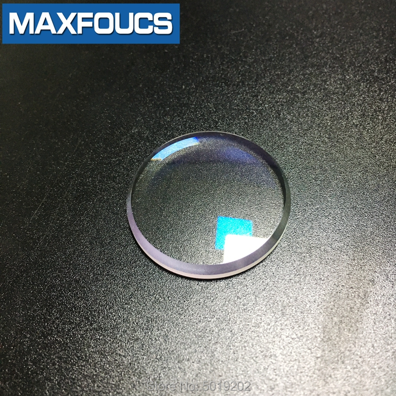 Double Dome 31x4.6x3.7mm 31.5x3.9x2.8mm Watch Glass With Blue AR Coating  With Larger Edge Chamfer Watch Parts Sapphire Crystal