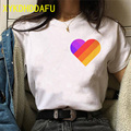 Likee T Shirt Women Funny Fashion Graphic Top Tee Russia Style LIKEE Vintage Ulzzang Tshirt Streetwear Casual Female T-shirt New