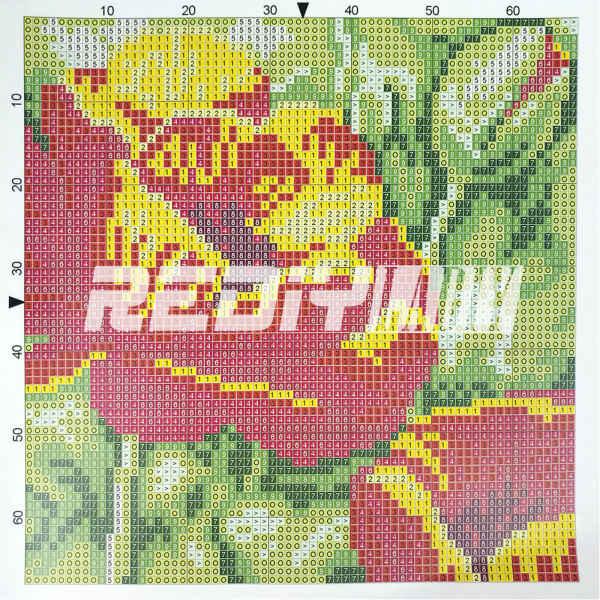 Kits de gancho trava super mario capa de almofada pré-impresso cor canvas crocheting artes & artesanato travesseiro caso sofá travesseiros decoração da sua casa