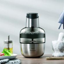 1.8L Stainless Steel Meat Grinder Food Blender Electric Grinder Automatic Mincing Machine Household цена и фото