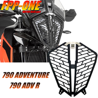 FOR KTM 790 Adventure / R ADV Motorcycle Accessories Headlight Protection Guard Cover Aluminum