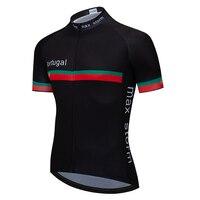 Cycling Jersey 2019 portugal black blue new team custom road mountain racing top bike jersey maximum storm