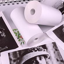 5 рулонная печать наклеек бумага сразу термобумага 57x30 мм для бумаги ANG портативный карманный принтер