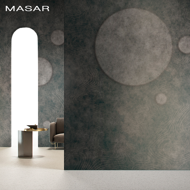 MASAR Original Minimalist Mural Office Living Room Television Wall Bed Background Wall Plain Color Wallpaper Xingyu