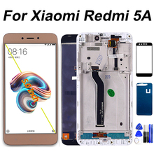 Display LCD Per Xiaomi Redmi 5A Touch Screen Digitizer Telaio di Montaggio del Sensore di 1280*720 Per Redmi 5A LCD di Riparazione parte