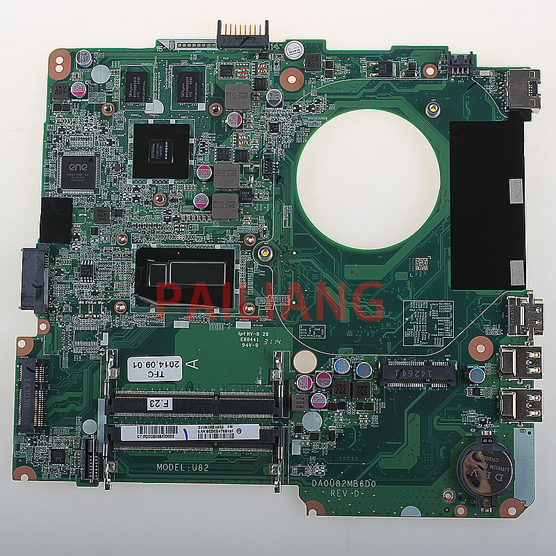 Pailiang Laptop Motherboard For Hp Pavilion 14 N Tpn Q129 14 Inch Core I7 Mainboard Da0u82mb6d0 Tesed Ddr3 Motherboards Aliexpress