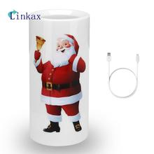 1Pc LED Candle Light Projector Lamp with Remote Control Projection Night Light for Party Wedding Christmas
