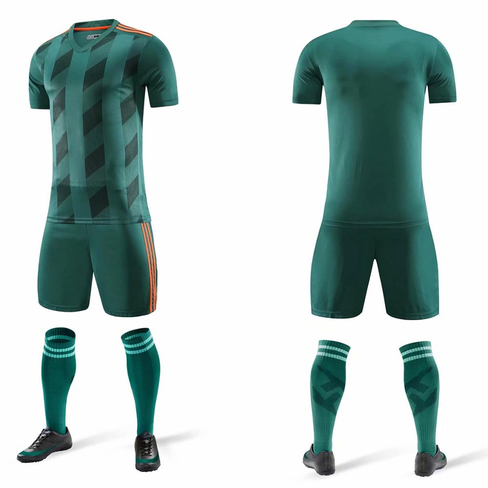 19 20 new football jersey football custom adult sports children training team shirt shorts football sweater in Soccer Sets from Sports Entertainment