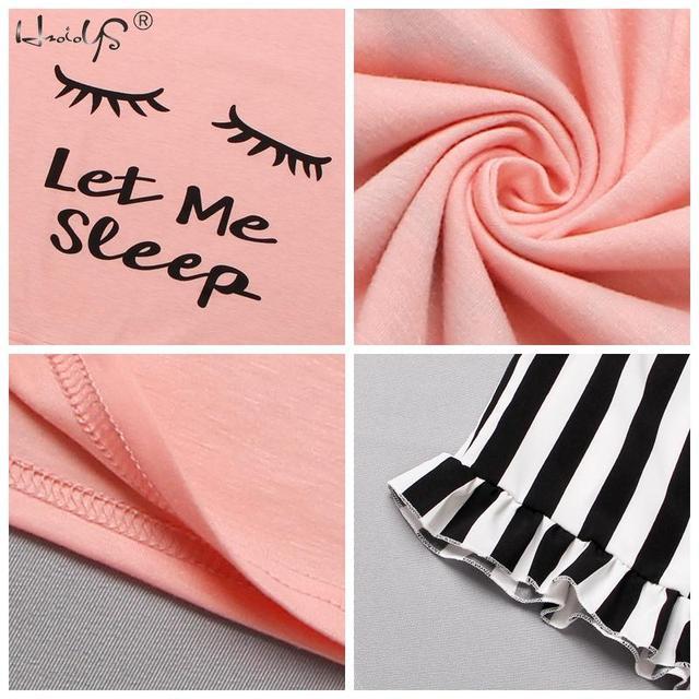 Ladies Printed Shorty Pajama Set 4