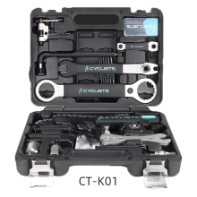 Repair-Tool-Kit Chain Bicycle CT-K01 Crank Bottom-Bracket Freewheel Spoke Pro for Hub-Pedal