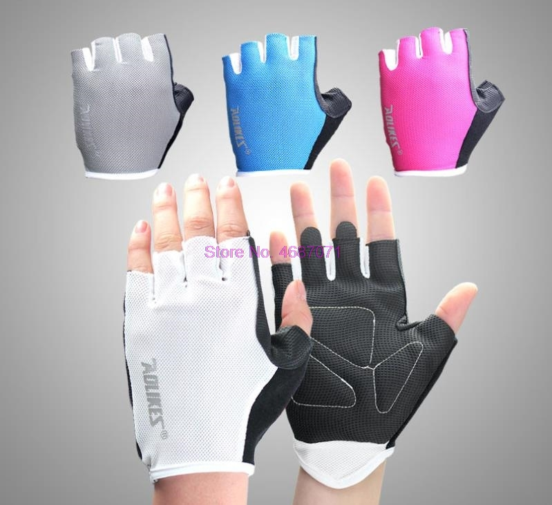 Gym-Gloves Dumbbell Weight Exercise Body-Building Training-Sport Breathable AOLIKES Anti-Skid
