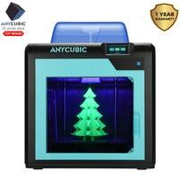 ANYCUBIC 4Max Pro 3d Drucker Geschlossenen Druck Raum DIY 3D Drucker Kit Große Bauen Volumen Ultrabase 3d filament FDM impresora 3d-in 3-D-Drucker aus Computer und Büro bei