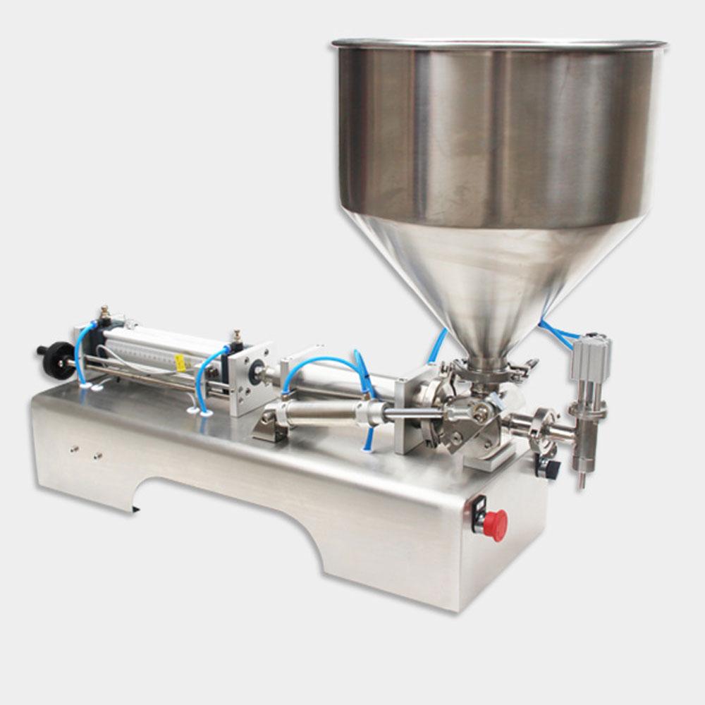 5-5000ml Single Head Liquid Filler Cream Shampoo Pneumatic Filling Machine Piston Cosmetic Paste Oil Water Filling Machine