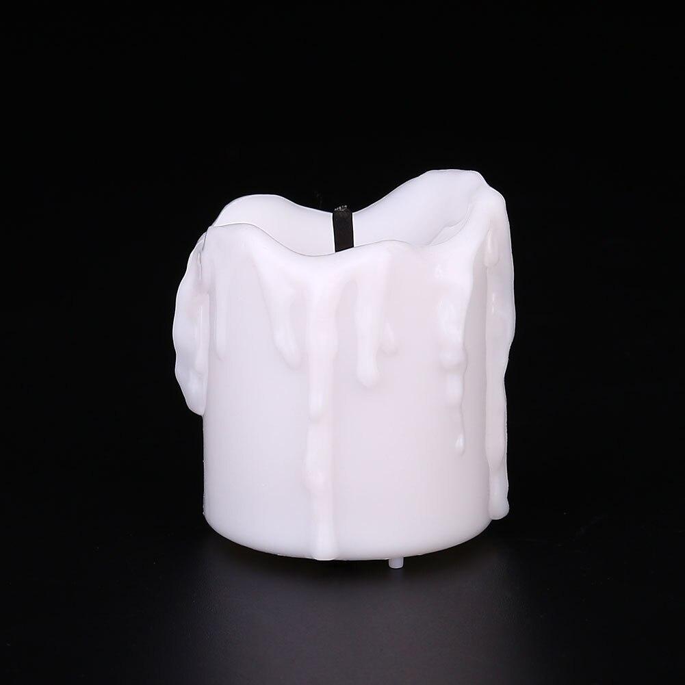 ABS светодиодный светильник-свеча, ночник, рождественские украшения, вечерние, белые