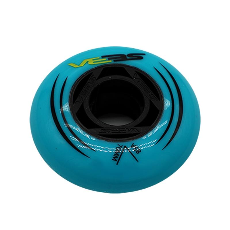 [62mm 64mm 68mm 70mm]SEBA Kids' Inline Skating Wheel Sneaker Roller Skates Wheels 608 Bearing High FSK Slalom Wheels 4 Pcs/set