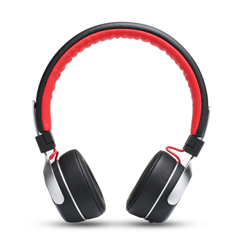 Wireless Headphones Bluetooth Earphone Hi-Fi Stereo Headset With Microphone Foldable&Portable Flash LED Lights for Night Running