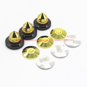 Image 2 - 4 SET Mini Portable Audio Speaker Spikes Speakers Repair Parts DIY Speaker Stand Shock Pin Nails And Pads Accessories