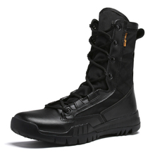 Buy Army boots shoes-men Genuine leather Special Force Tactical Desert Combat military Boots Men Shoes outdoor Winter Male Boot directly from merchant!