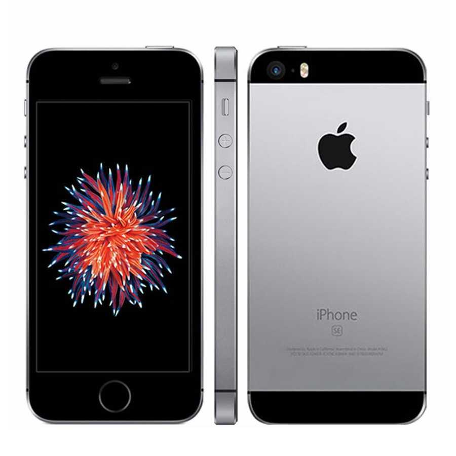 Double cœur Apple Iphone SE A1662 A1723 16GB 32GB 64GB ROM 2GB RAM déverrouiller téléphone portable utilisé