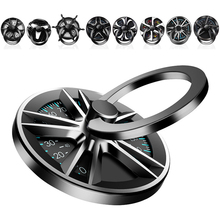 Gyro Finger Ring Holder Hand Spinner Rotary Rotation Metal Mobile Phone Holder Stand For iPhone 11 Pro Samsung Phone Ring Holder 10pcs metal ring stand phone case cover with magnetic adsorption 360 rotation ring holder tpu phone cover for samsung