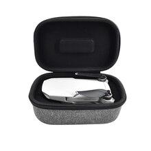 กล่องเก็บรีโมทคอนโทรลแพ็คมือถือ Oxford ผ้า Dual Zipper Hard Drone กระเป๋าเดินทางสำหรับ DJI Mavic MINI