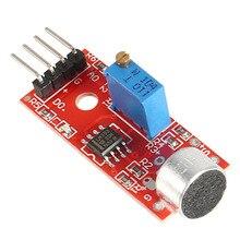 KY-037 4pin Voice% 2FSound% 2FDetection Датчик Модуль Микрофон Передатчик Smart Робот Автомобиль для Arduino DIY Kit