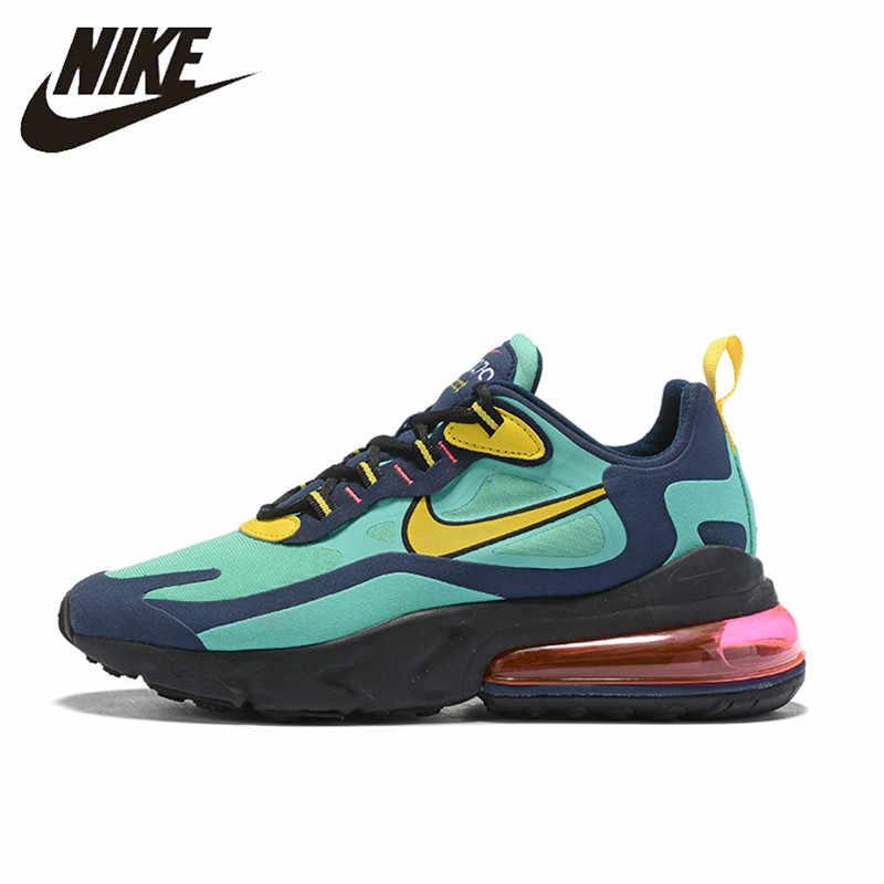 Nike Air Max 270 React спортивная обувь для мужчин Air Cushion спортивные кроссовки удобные AO4971