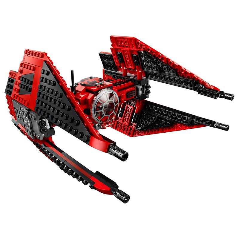 New 2020 Star Wars Red Tie Fighter AT-TE Walker Building Blocks Brick Toys For Children With 75240 75242