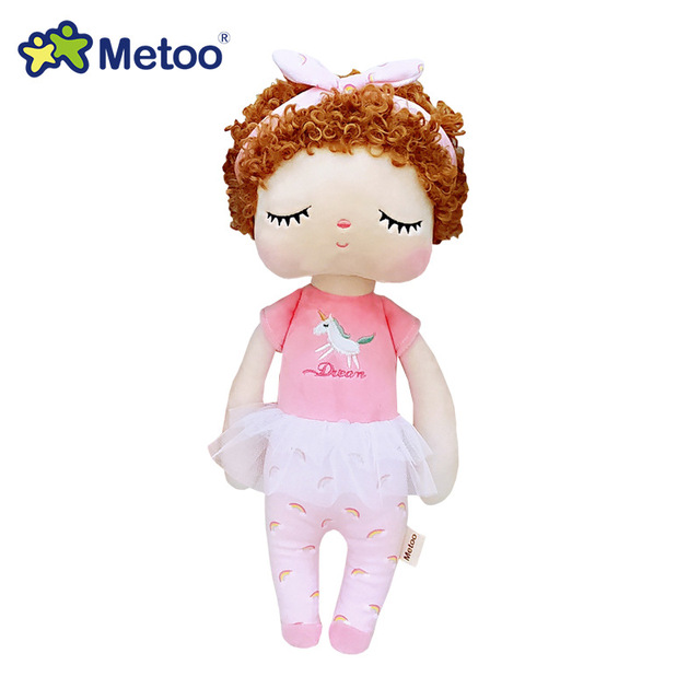 34cm Boxed Metoo Doll Stuffed Toys Plush Animals Kids Toys for Girls Children Boys Baby Soft Plush Toys Cartoon Angela Rabbit