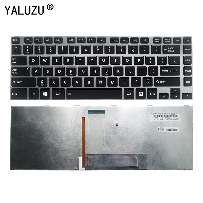 US laptop backlit Keyboard for <font><b>Toshiba</b></font> Satellite <font><b>L800</b></font> L800D L830 L835 L840 L845 P840 P845 C800 C840 C845 M800 M805 M840 image