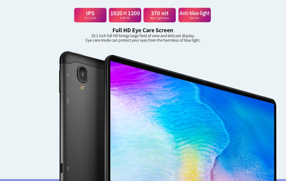 """Image 2 - Tablet telefoniczny Teclast T30 4G android 9.0 10.1 """"1920x1200 MTK P70 4GB RAM 64GB ROM tablety PC podwójny aparat GPS type c 8000mAhTablety Android   -"""