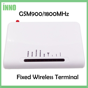 2pcs lgsm gateway FWT fixed wireless terminal based on SIM card for connecting desk phone to make phone call or PSTN alarm Panel