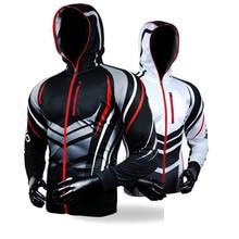 Drop Shipping Fishing Clothing Hooded Men Jacket Quick-Drying Coat Fishing Shirt For Hiking Cycling Fishing Clothes Pesca