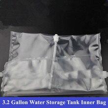 הפוך אוסמוזה 3.2 גלון מים אחסון טנק מיוחד פנימי תיק PE ברור מים תיק שקוף