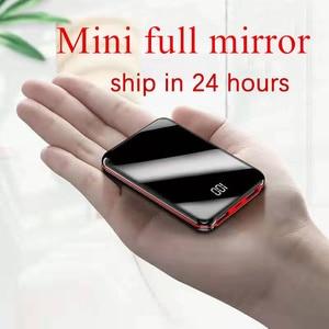 Image 2 - Plein écran mini batterie externe 30000mah PowerBank batterie externe USB Portable téléphone chargeur de batterie pour IPhone appauvrbank